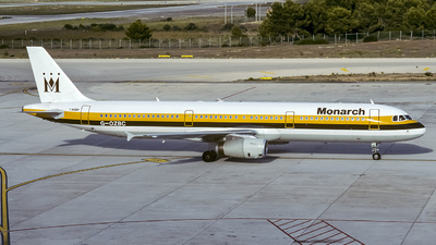 G-OZBC - Airbus A321-231 - Monarch Airlines