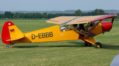 D-EBBB - Piper L-18C Super Cub - Private