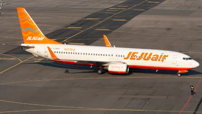 A picture of HL8063 - Boeing 7378AS - Jeju Air - © Lee Jihun-Korea Aero Photos