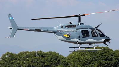 125 - Bell 206B JetRanger III - Guatemala - Air Force