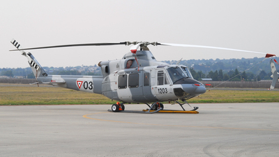1203 - Bell 412EP - Mexico - Air Force