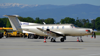 G-PCIZ - Pilatus PC-12/47E - Private