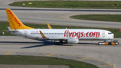 TC-IZJ - Boeing 737-82R - Pegasus Airlines