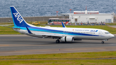 JA76AN - Boeing 737-881 - All Nippon Airways (ANA)