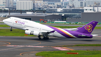 HS-TGB - Boeing 747-4D7 - Thai Airways International
