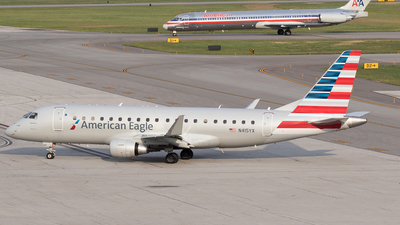 N415YX - Embraer 170-200LR - American Eagle (Republic Airways)