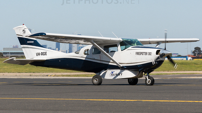 A picture of VHRGE - Cessna U206F - [U20601981] - © James Pentland