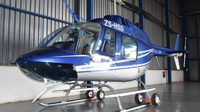ZS-HSS - Bell 206B JetRanger III - Private