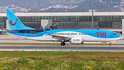 A picture of PHTFO - Boeing 737 MAX 8 - TUI fly - © Manuel Llama - Benalmadena Spotters