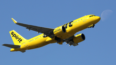 A picture of N902NK - Airbus A320271N - Spirit Airlines - © Xiamen Air 849 Heavy