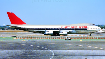 N612US - Boeing 747-251B - Northwest Orient Airlines