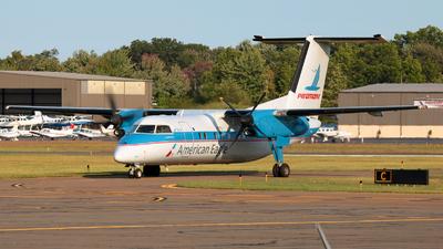 A picture of N837EX - De Havilland Canada Dash 8100 - [217] - © Jose G. Candelas