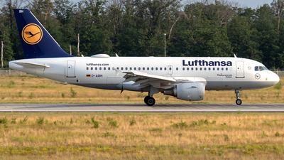 D-AIBH - Airbus A319-112 - Lufthansa