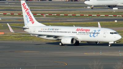 A picture of ECISN - Boeing 73786Q - Air Europa - © Mateo León