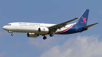 4L-BQJ - Boeing 737-8AL - Myway Airlines