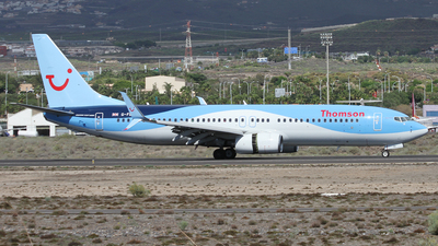 G-FDZB - Boeing 737-8K5 - Thomson Airways