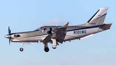 N101WG - Socata TBM-930 - Private