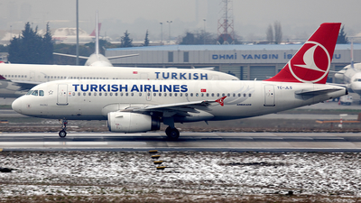 TC-JLS - Airbus A319-132 - Turkish Airlines