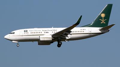 HZ-MF2 - Boeing 737-7AH(BBJ) - Saudi Arabia - Ministry of Finance