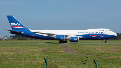 A picture of VQBVC - Boeing 74783Q(F) - Silk Way West Airlines - © Asomers