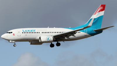 LX-LGS - Boeing 737-7C9 - Luxair - Luxembourg Airlines