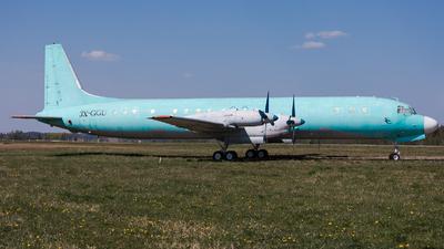 3X-GGU - Ilyushin IL-18D - Sky Guinee Airlines