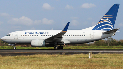 HP-1531CMP - Boeing 737-7V3 - Copa Airlines