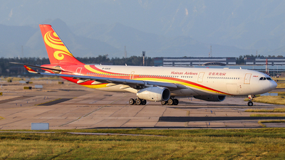 A picture of B5935 - Airbus A330343 - Hainan Airlines - © Jerry.H