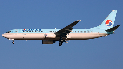 HL7718 - Boeing 737-9B5 - Korean Air