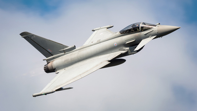 ZK317 - Eurofighter Typhoon FGR.4 - United Kingdom - Royal Air Force (RAF)