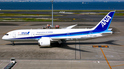 A picture of JA816A - Boeing 7878 Dreamliner - All Nippon Airways - © Shogo Kawai