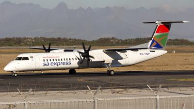 ZS-YBP - Bombardier Dash 8-Q402 - SA Express