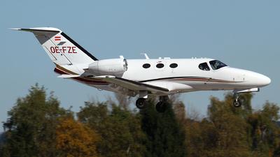 OE-FZE - Cessna 510 Citation Mustang - GlobeAir