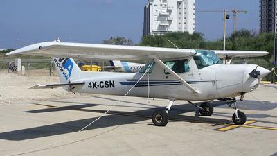 4X-CSN - Cessna 152 II - MoonAir