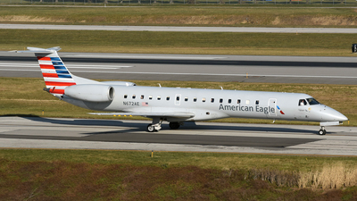 A picture of N672AE - Embraer ERJ145LR - American Airlines - © DJ Reed - OPShots Photo Team