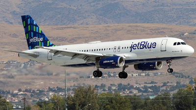 A picture of N571JB - Airbus A320232 - JetBlue Airways - © Nate Morin
