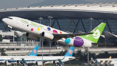 A picture of B6990 - Boeing 73786N - 9 Air - © SEN BAI