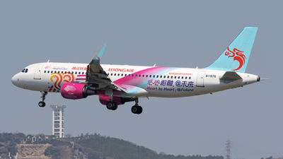 A picture of B1676 - Airbus A320214 - Loong Air - © sunshy0621