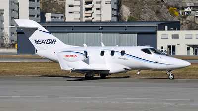 N542MP - Honda HA-420 HondaJet Elite - Private