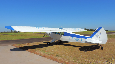 PT-APU - Piper PA-18 Super Cub - Private