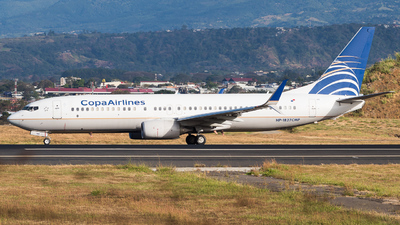 A picture of HP1827CMP - Boeing 7378V3 - Copa Airlines - © Alonso Cisneros