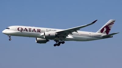 A picture of A7ALE - Airbus A350941 - Qatar Airways - © Karson