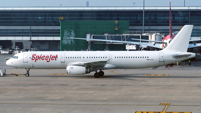 9H-LIS - Airbus A321-231 - Spicejet (Hifly Malta)