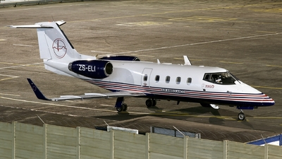 ZS-ELI - Bombardier Learjet 55 - Halo Aviation