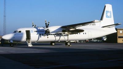 OY-MMV - Fokker 50 - Maersk Air