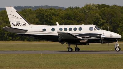 N3663B - Beechcraft 100 King Air - Private