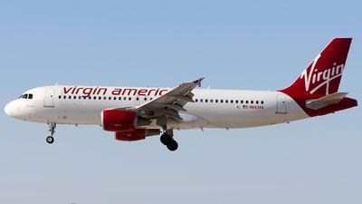 N843VA - Airbus A320-214 - Virgin America