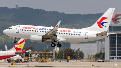 A picture of B5259 - Boeing 73779P - China Eastern Airlines - © Yan Shuai