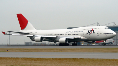 JA8085 - Boeing 747-446 - Japan Airlines (JAL)