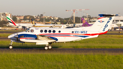 VH-MSZ - Beechcraft B200 Super King Air - Royal Flying Doctor Service of Australia (SE Section)